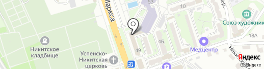 Inna NailArt на карте Курска