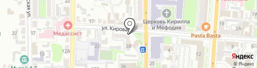 Тортляндия на карте Курска
