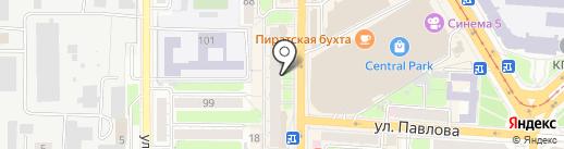 Юлмарт на карте Курска