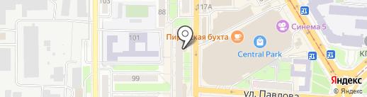 Нужные средства на карте Курска