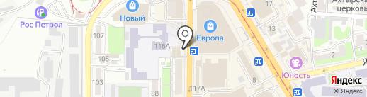 Дмитрогорский продукт на карте Курска