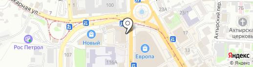 Стандарт-Кафе на карте Курска