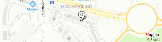 Тефи на карте Калуги