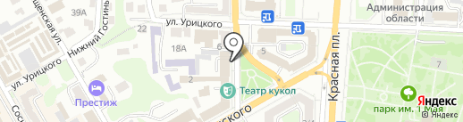 Союз журналистов России на карте Курска