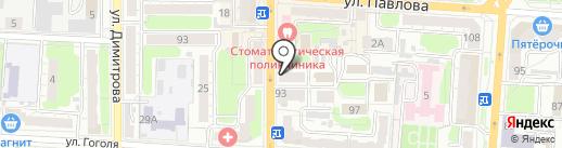 Окрыленность на карте Курска