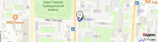 Макошь на карте Курска