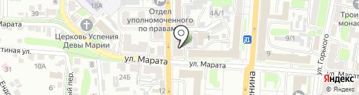 ТРИОНИКС на карте Курска