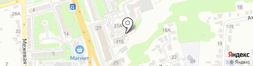 Квартал на карте Курска