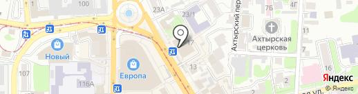 Ателье по пошиву и ремонту одежды на карте Курска