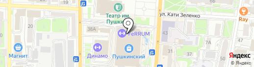КОНТИ-РУС на карте Курска