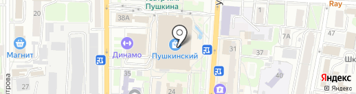 МегаФон на карте Курска
