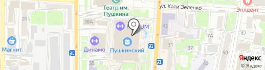 Yota на карте Курска