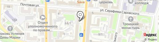 Абсолют 2 Белгород на карте Курска