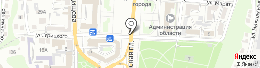 Мир грузовиков на карте Курска