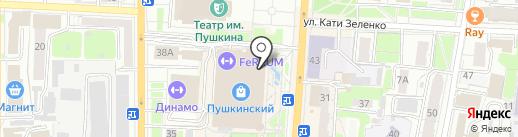 Kraskibum на карте Курска