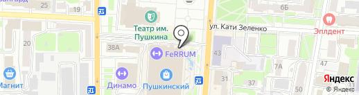 IL Patio на карте Курска