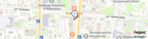 Торгово-сервисная компания на карте Курска