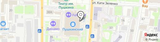 Золотая галерея на карте Курска