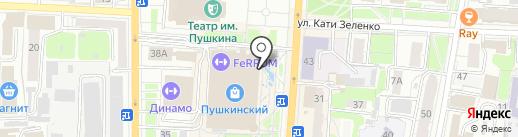 Сталкер на карте Курска