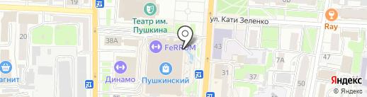 1С: Интерес на карте Курска