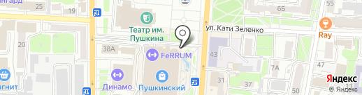 Meleana на карте Курска