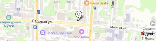 Ломбард №1 на карте Курска