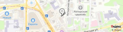 Barrel на карте Курска