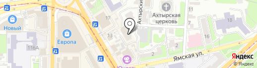 Же Тем на карте Курска