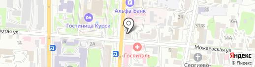 DONUT BAR на карте Курска