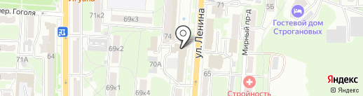 Ломбард Золотник на карте Курска