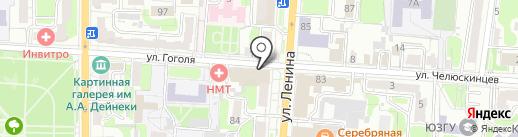 Центр косметологии на карте Курска