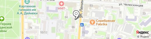 МУЗТОРГ-КУРСК на карте Курска