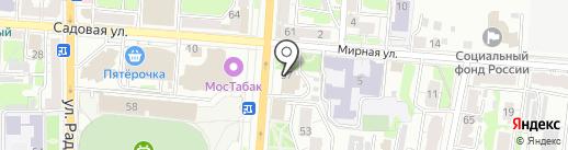 Архивное управление Курской области на карте Курска