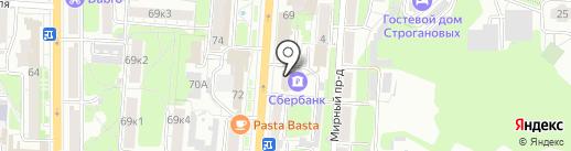 Сбербанк, ПАО на карте Курска