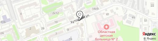 Суши100 на карте Курска