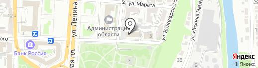 Военный комиссариат Курской области на карте Курска