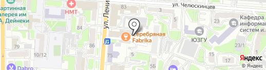 Атмосфера на карте Курска