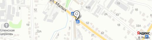 Ника на карте Курска