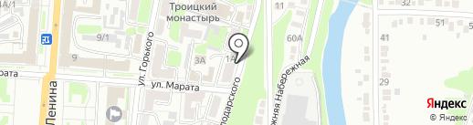 Совет ветеранов войны и труда, Вооруженных Сил и правоохранительных органов на карте Курска