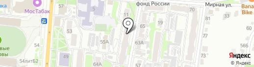 Марита на карте Курска