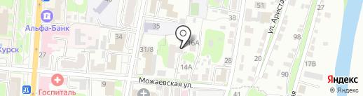 Совтест на карте Курска
