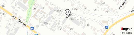 Автостандарт46 на карте Курска