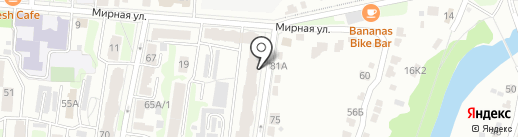 Эврика, ЗАО на карте Курска