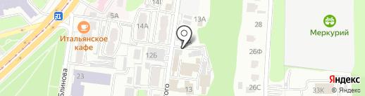 Автомойка на карте Курска