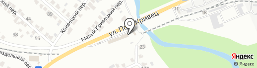 Пеликан на карте Курска