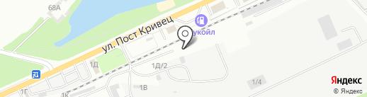 АВТО-КЛЮЧ46 на карте Курска
