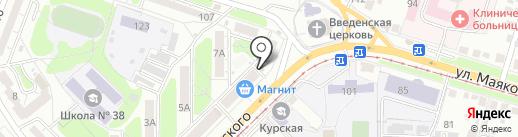 Маяк, ТСЖ на карте Курска