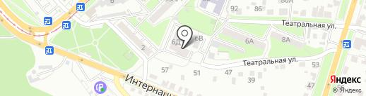 Огонь-пицца на карте Курска