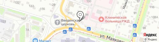 Красный дракон на карте Курска