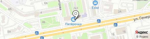 МИР ДЕТСТВА на карте Калуги